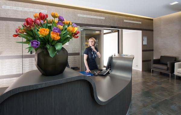 accueil reception Accueil clinique de Genolier  avril 2014 (PHOTO-GENIC.CH/ OLIVIER MAIRE)