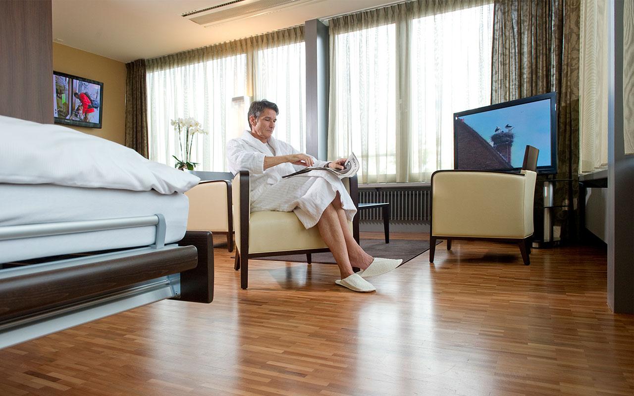 Выздоровление в гостиничном номере