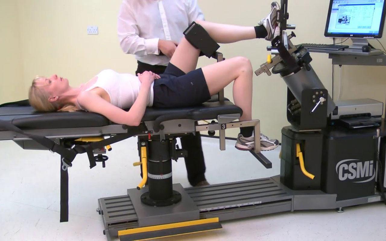 Изокинетическое устройство для эффективной реабилитации от клиники Женолье