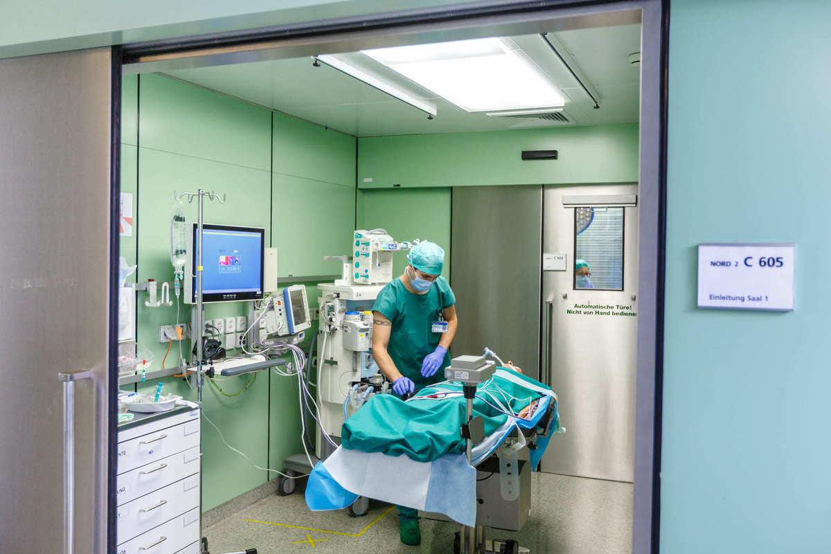 хирургическая анестизия в университетской клинике цюриха