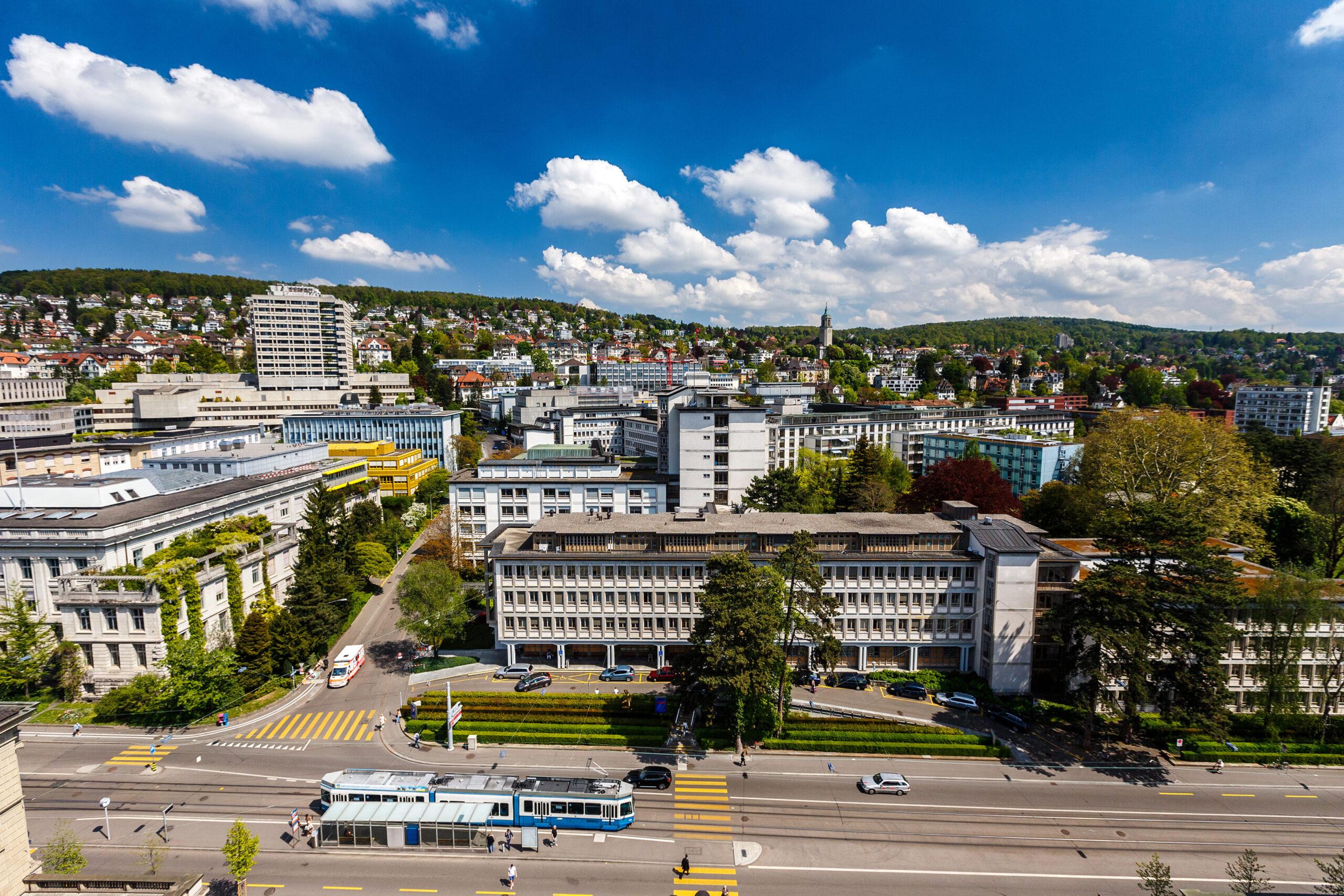 University Hospital Zurich grounds